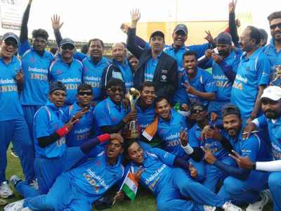 India Tv - 2018 Blind Cricket World Cup victory was India's second consecutive claim at the title