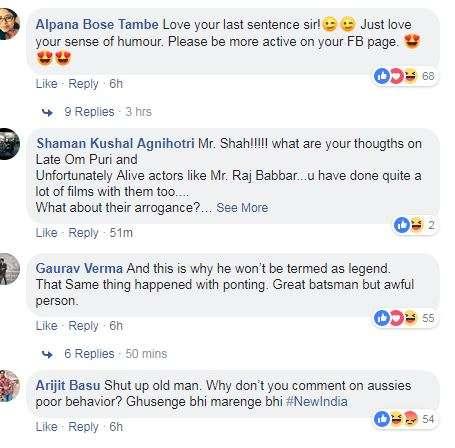 India Tv - Naseeruddin Shah slams Virat Kohli, gets mixed reactions