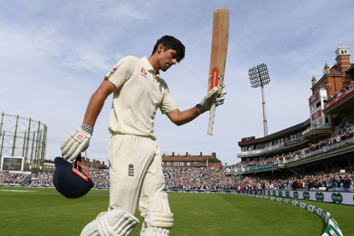 India Tv - Cook said goodbye after a century in his final Test.