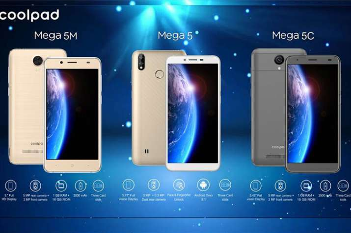 Coolpad Mega 5, Mega 5M And Mega 5C