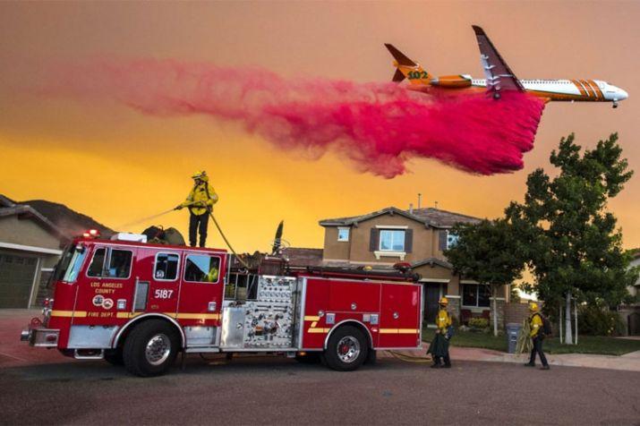 India Tv - California wildfire