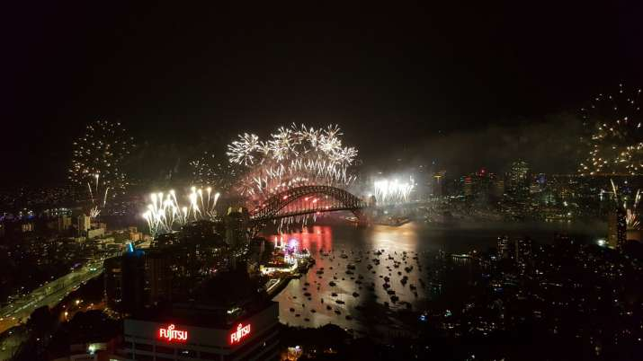 India Tv - New Year celebrations in Sydney
