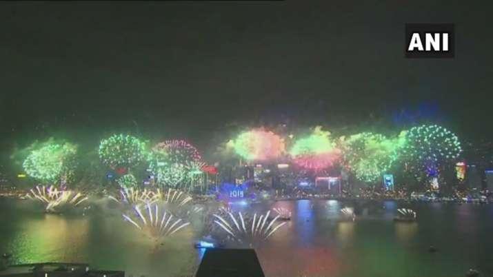 India Tv - Hong Kong celebrates the new year