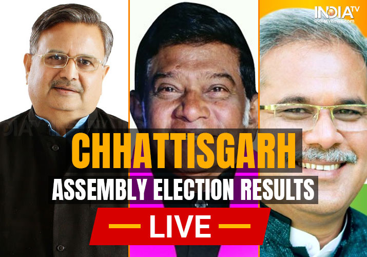 Chhattisgarh Election Results Counting Day LIVE Updates: