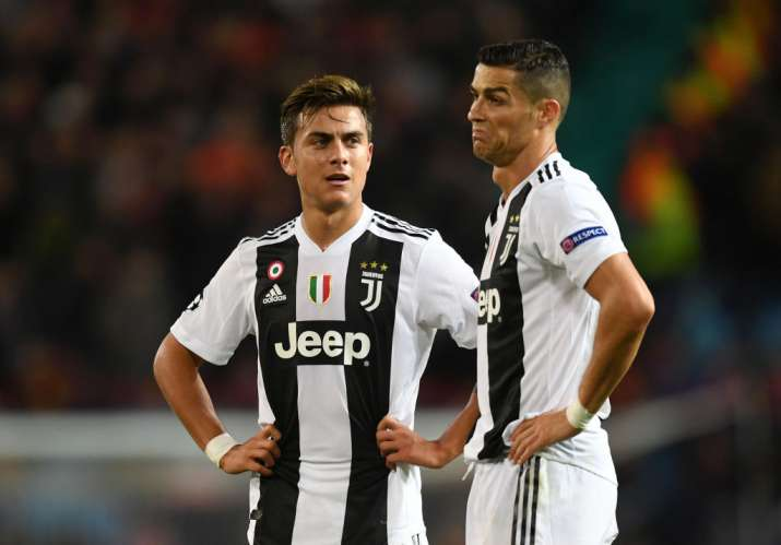 brand new 63173 cd934 WATCH: Ronaldo deprives Juventus of late equaliser, Dybala ...