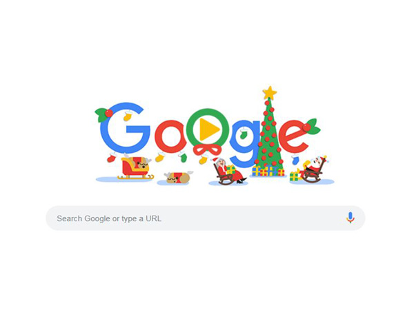Christmas 2018 Google Doodle Rolls Out Special Doodle To Spread