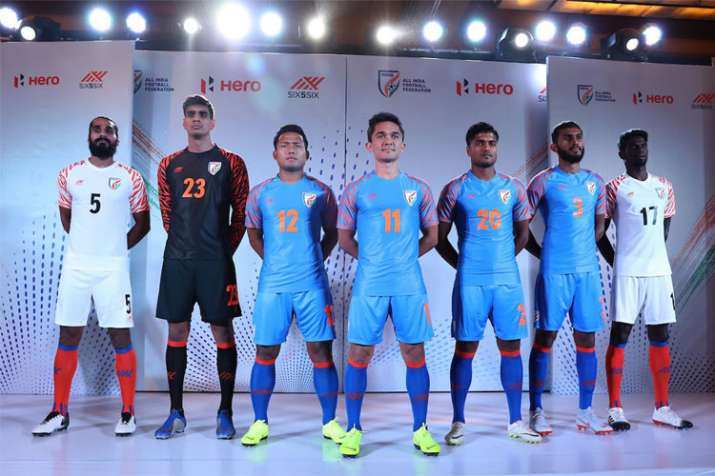 New year, new kit for Indian football