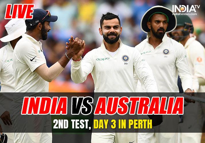 Stream Live Cricket, India vs Australia, 2nd Test, Day 5