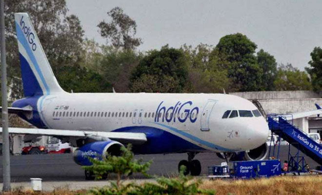 IndiGo plane returns to parking bay at Hyderabad airport to