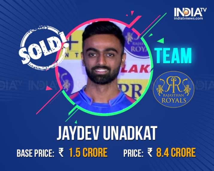 India Tv - Unadkat sold to Rajasthan