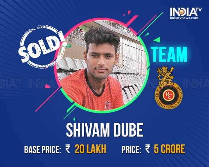India Tv - Shivam Dube