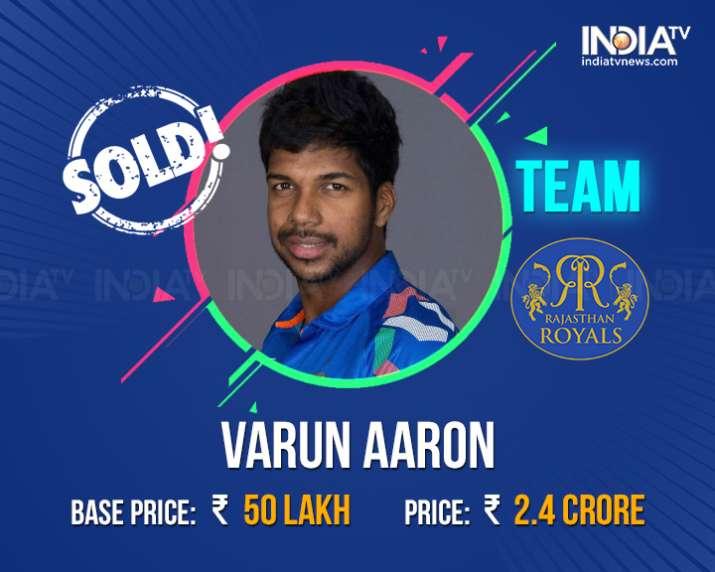 India Tv - Varun Aaron.