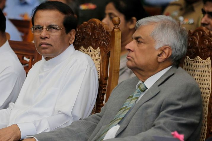 India Tv - Sri Lanka political crisis