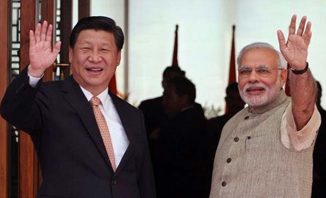 Prime Minister Narendra Modi and Chinese
