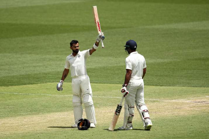 2nd Test: Virat Kohli lights up Perth with 25th Test hundred and sixth in Australia
