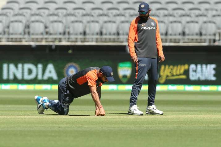 India Tv - Kohli said that he is excited to see such a pitch at the Perth Stadium