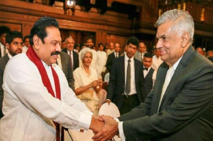 Ranil Wickremesinghe takes oath as Sri Lanka