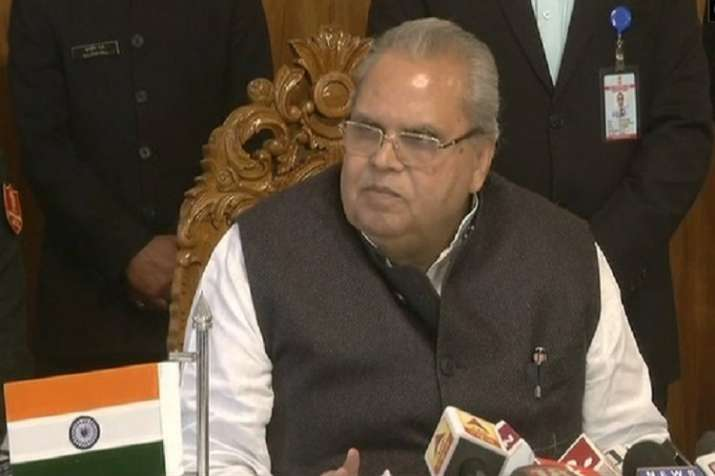 Pulwama encounter: J-K Governor Satya Pal Malik chairs review meeting, expresses grief over civilian deaths