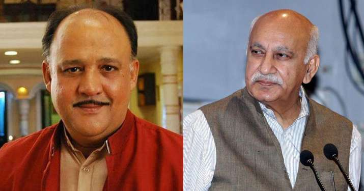 India Tv - Veteran actor Alok Nath and journalist MJ Akbar were among the most notable names in the list of accused in MeToo movement.