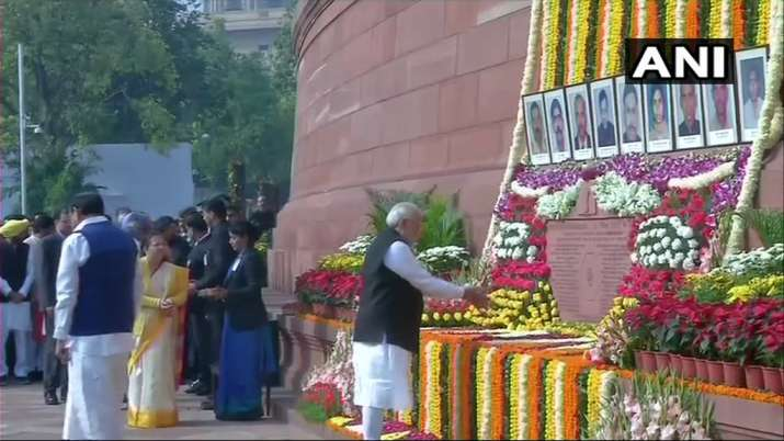 India Tv - PM Modi salutes valour of martyred, says 'their courage and heroism inspires every Indian'