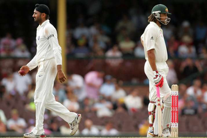 India Tv - Harbhajan and Symonds didn't see eye to eye for a while after the Monkeygate scandal.
