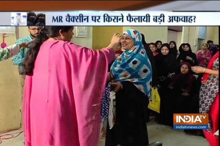 Muslim parents in Mumbai refuse vaccines for their children.