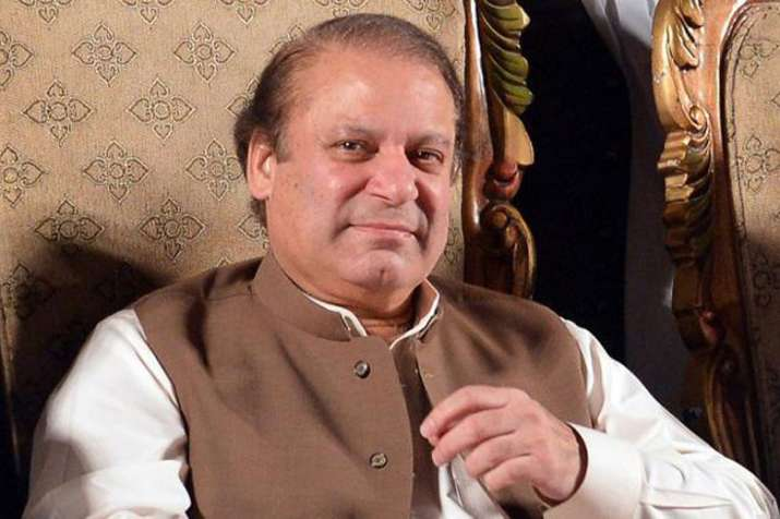 Former Pakistan Prime Minister Nawaz Sharif.