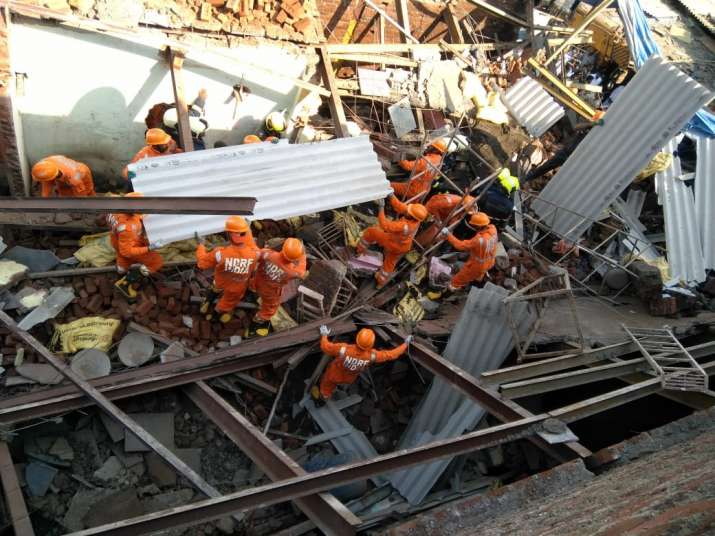 NDRF conducts relief, rescue operations in Goregaon