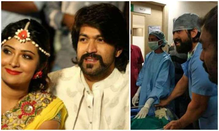 Kannada star couple Yash and Radhika Pandit welcome baby