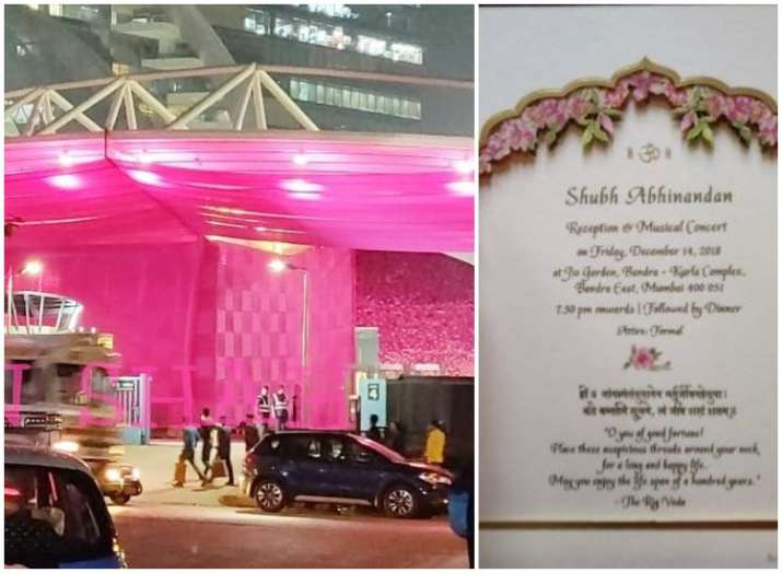 Isha Ambani Mumbai Wedding Reception LIVE Updates: Jio
