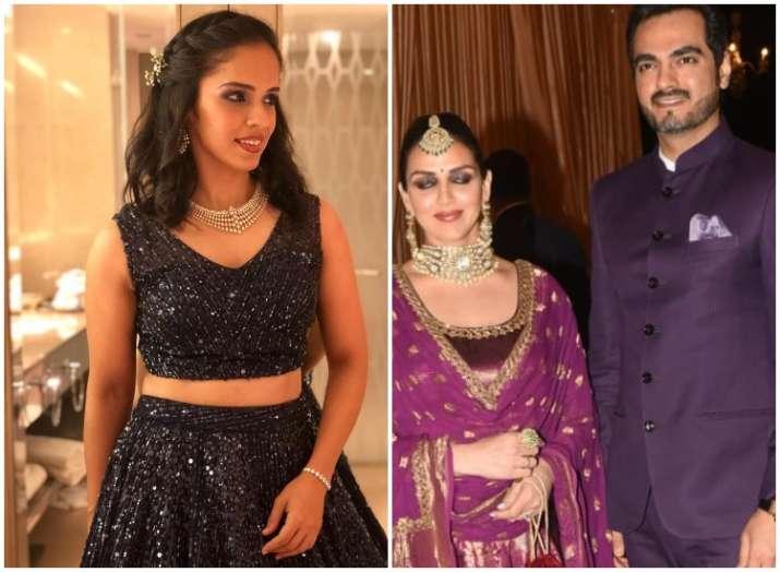 Isha Ambani Wedding Reception Highlights Newlywed Saina Nehwal