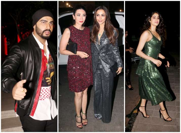 Image result for Arjun Kapoor and Malaika Arora. AT ANIL KAPOOR BIRTHDAY
