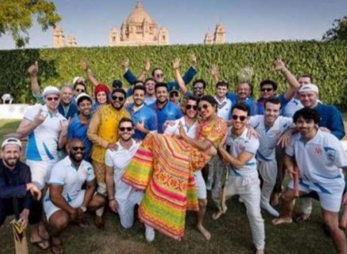 Priyanka Chopra enjoys in Nick Jonas' arms as the Bride and Groom side battle over cricket
