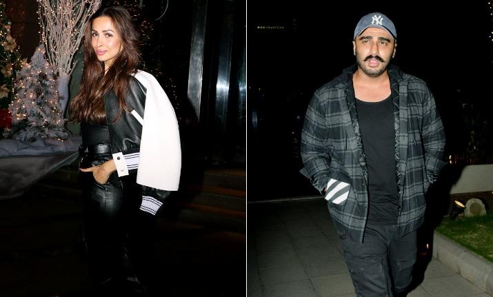 India Tv - Malaika Arora and Arjun Kapoor spotted on dinner date