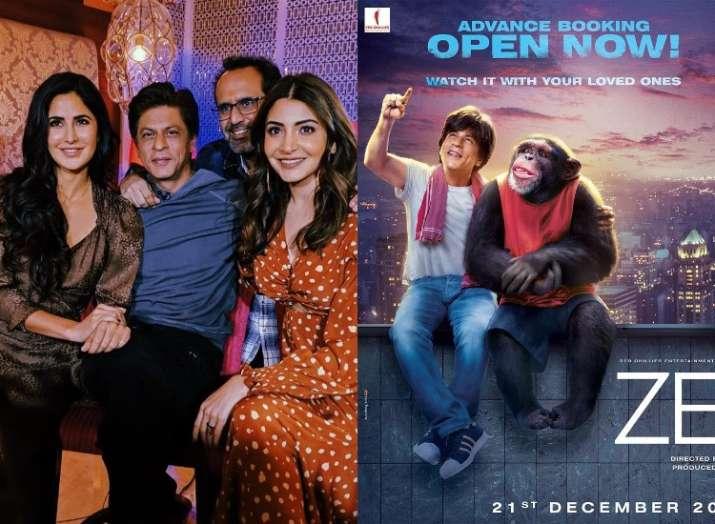 Directed by Aanand L. Rai, Zero stars Shah Rukh Khan, Anushka Sharma and Katrina Kaif