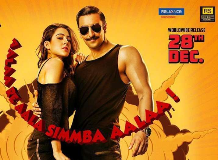 India Tv - Simmba Movie (2018): Advance Booking,Ticket Price, Showtime, Book Tickets Online on BookMyShow