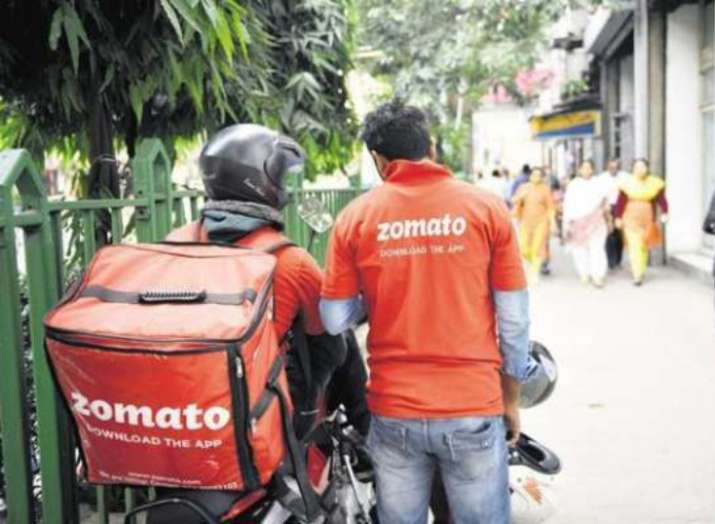 Image result for zomato delivery boy