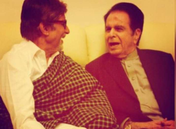 Amitabh Bachchan, Shatrughan Sinha and others pour in wishes on Dilip Kumar's 96th birthday