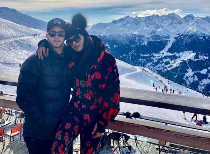 Priyanka Chopra goes skiing with 'The Jonas'