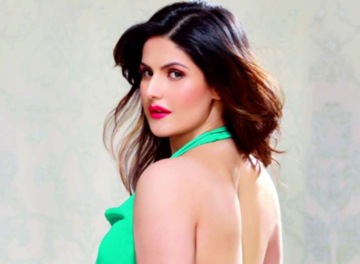 India Tv - Zareen Khan encounters car accident, biker dies after colliding with her vehicle in Goa