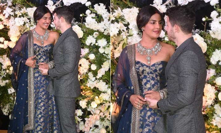 PHOTOS: Priyanka Chopra looks regal in Sabyasachi gown