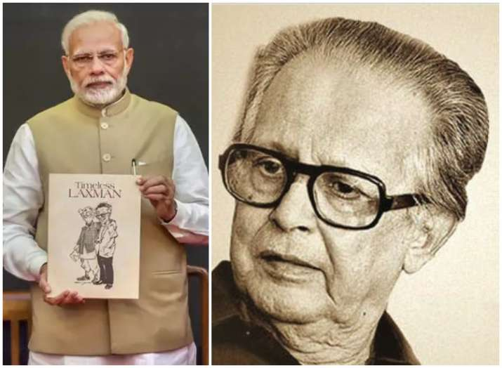 Remembering R.K. Laxman: PM Narendra Modi releases new book