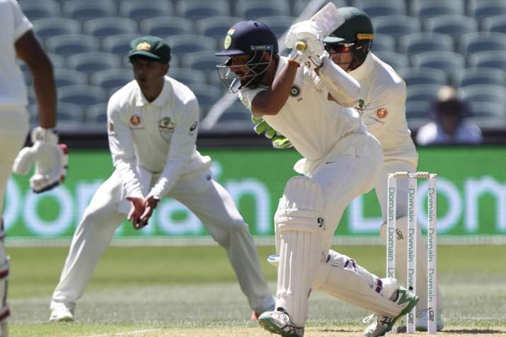 Cheteshwar Pujara hit his 16th Test hundred and maiden in