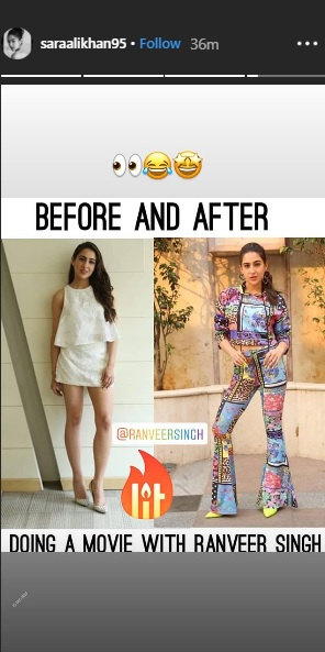 India Tv - Sara Ali Khan's Instagram post