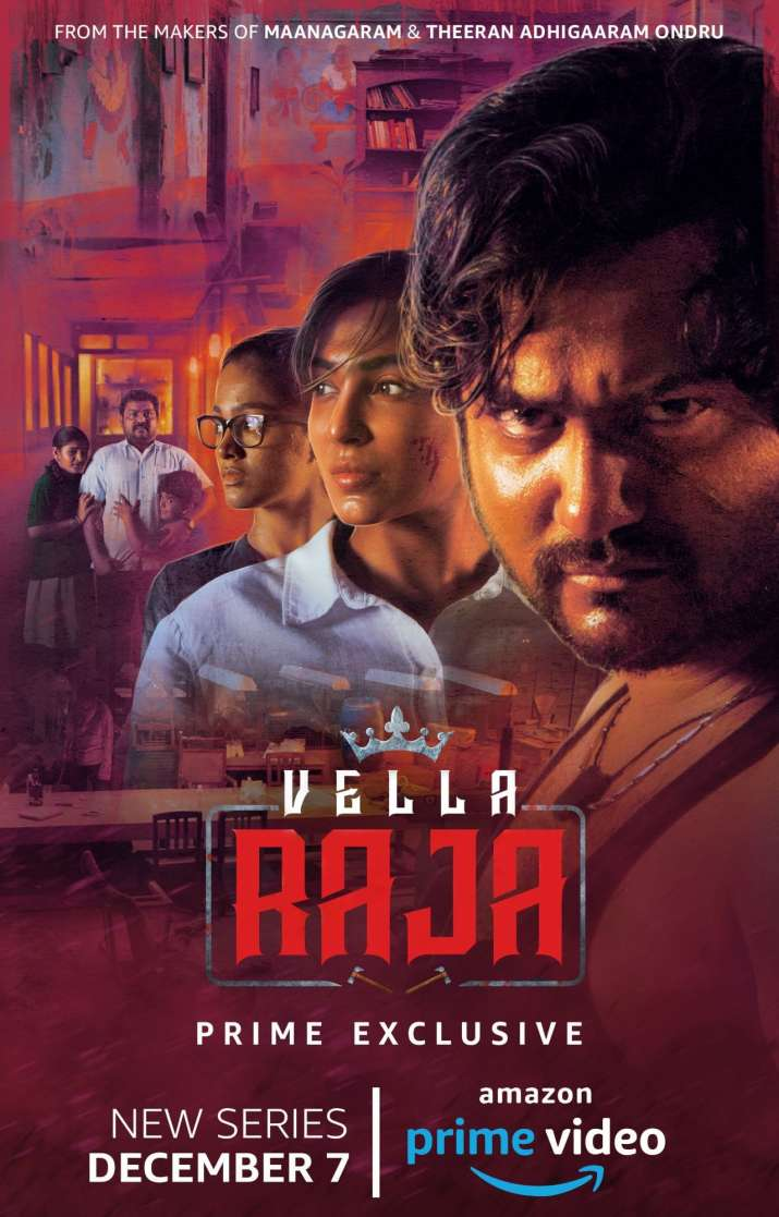 India Tv - Amazon Prime Video announces first Tamil Series called Vella Raja