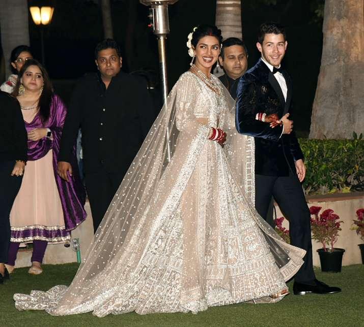 India Tv - Priyanka Chopra-Nick Jonas' Delhi reception