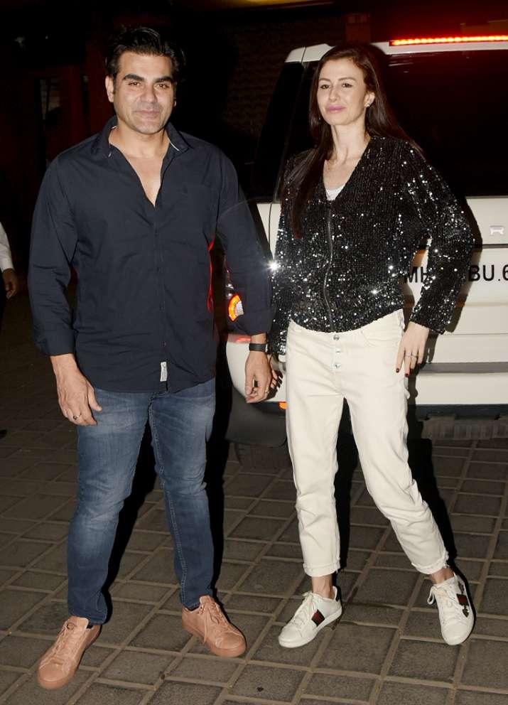 India Tv - Arbaaz Khan with girlfriend Giorgia Andriani