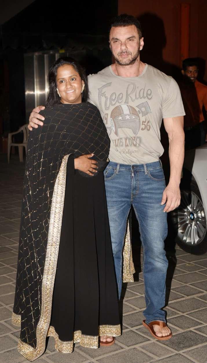 India Tv - Arpita Khan Sharma with Sohail Khan