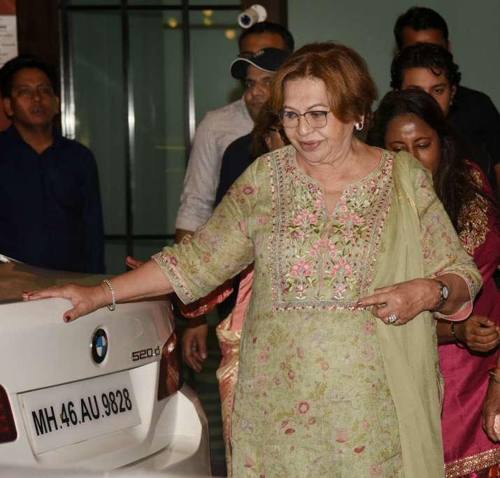 India Tv - Helen atSalma Khan birthday party