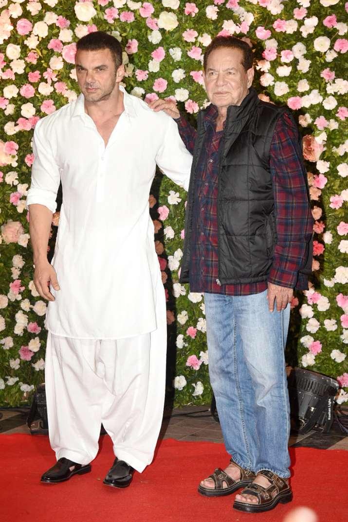 India Tv - Sohail Khan and Salim Khan